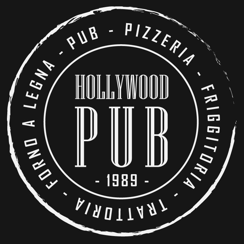hollywood pub logo black